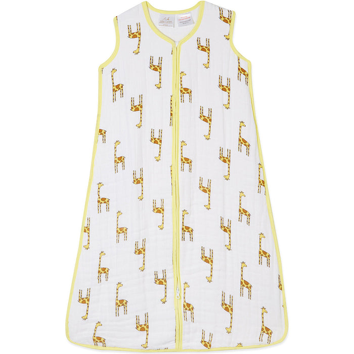 Aden Anais Cozy Sleeping Bag Medium - Jungle Jam - Giraffe