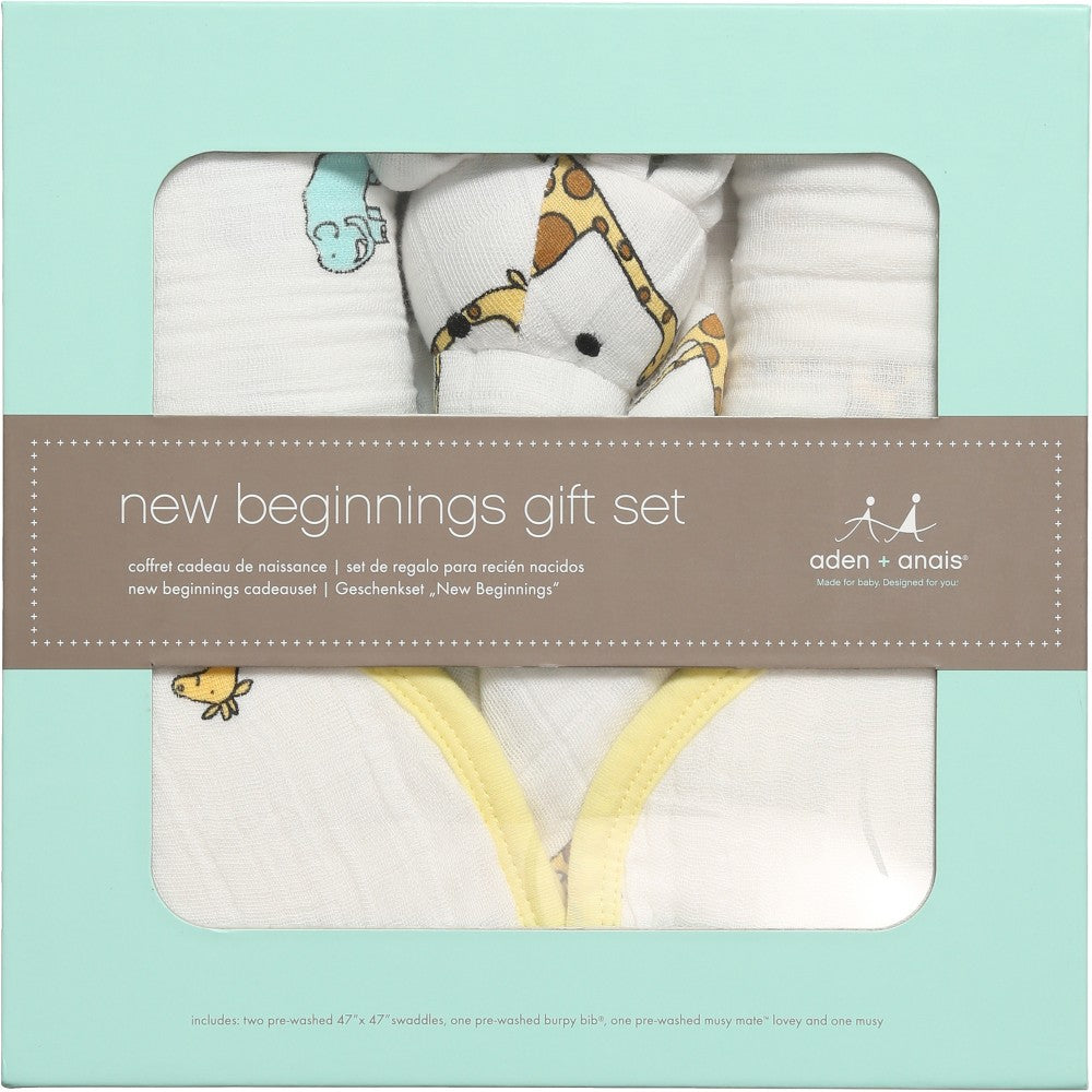 Aden Anais Gift Set - Jungle Jam New Beginnings