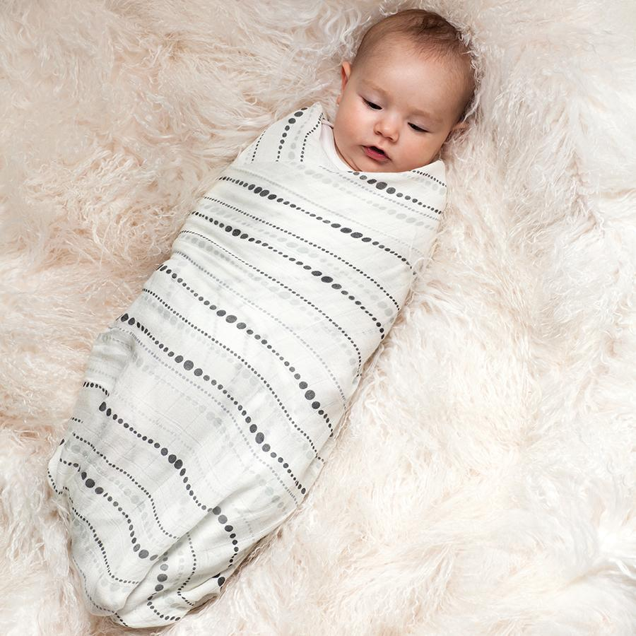 Aden Anais Bamboo Swaddle - Moonlight