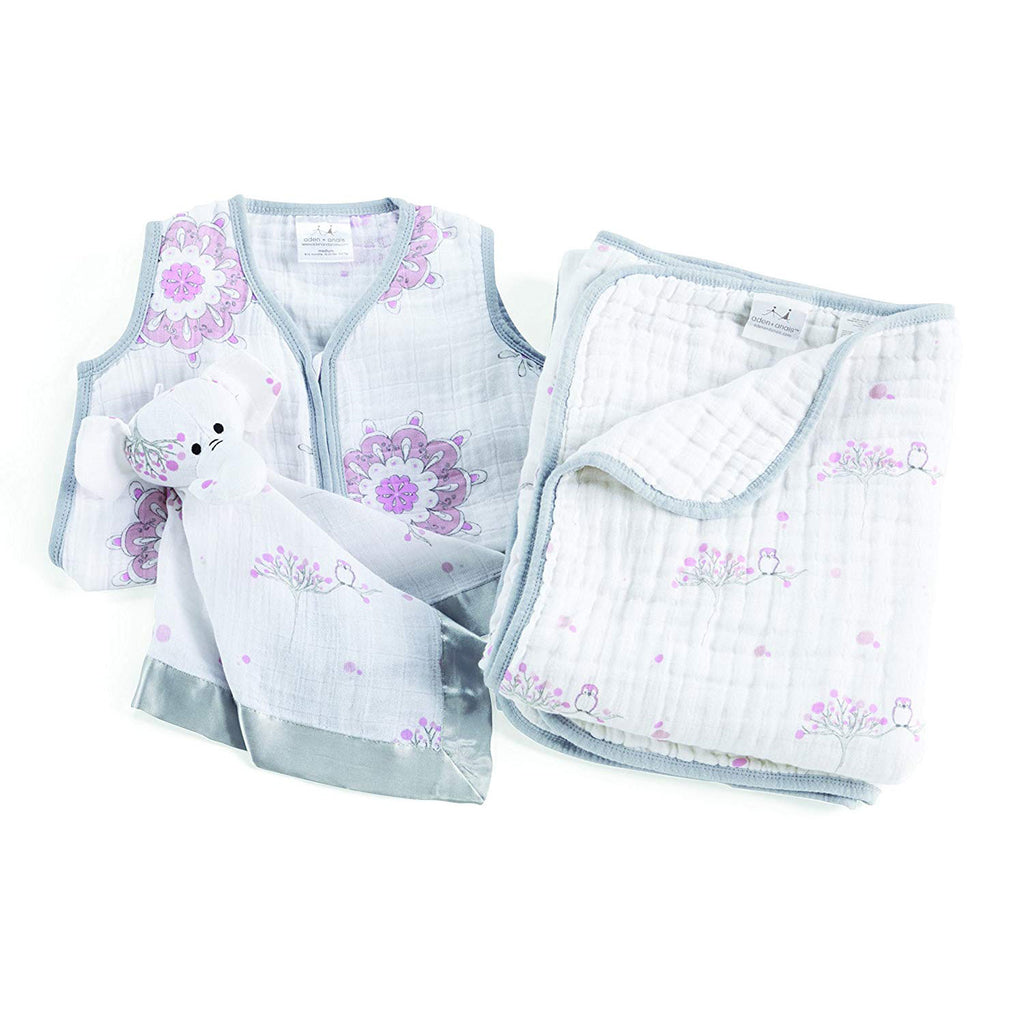 Aden Anais Sweet Dreams Gift Set - For The Birds
