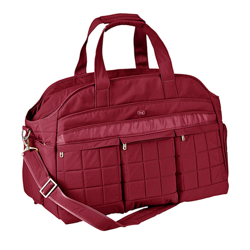 Lug Airbus Weekender Diaper Bag - Cranberry Red