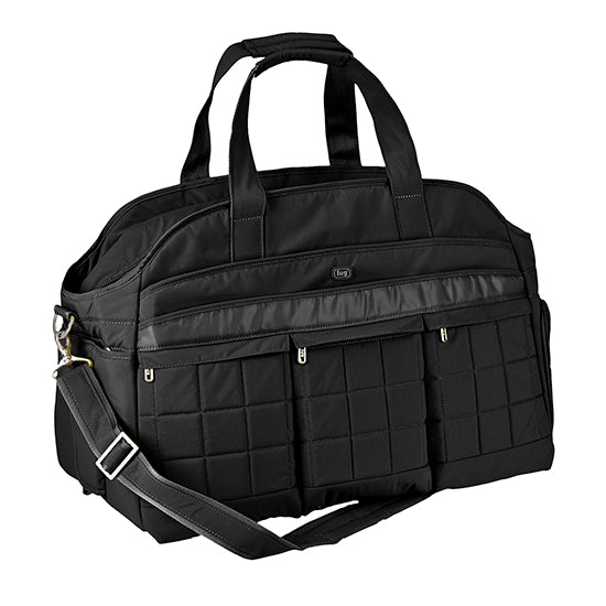 Lug Airbus Weekender Diaper Bag - Midnight Black