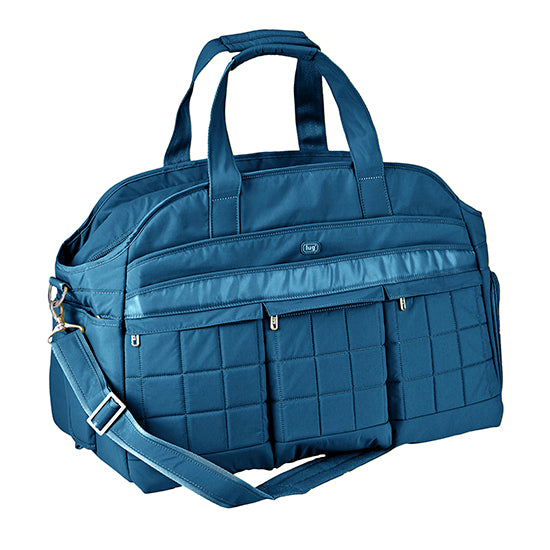 Lug Airbus Weekender Diaper Bag - Ocean Blue