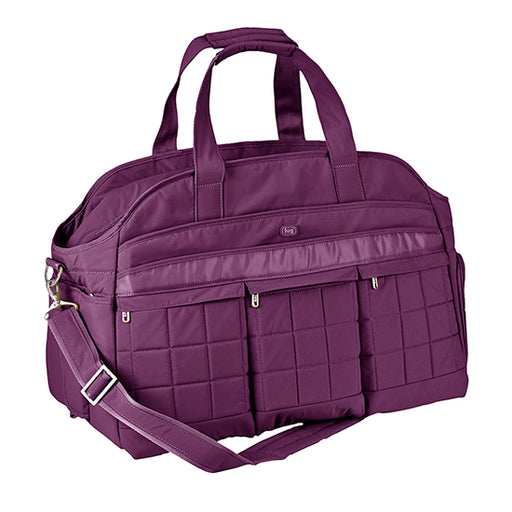 Lug Airbus Weekender Diaper Bag - Plum Purple