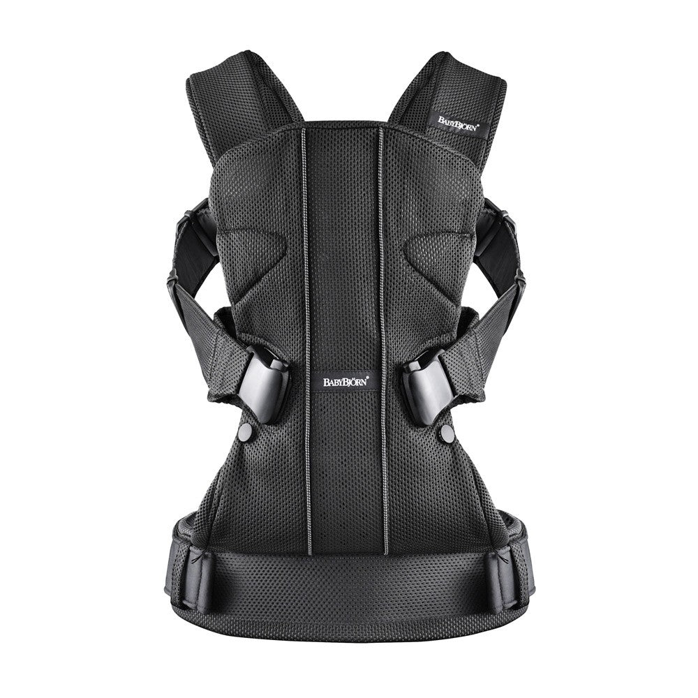 BabyBjorn Baby Carrier One - Black Mesh