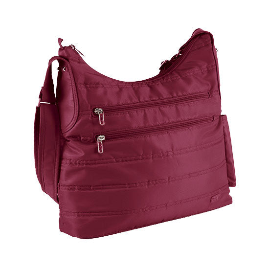 Lug Cable Car Satchel - Cranberry Red