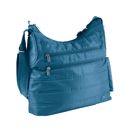Lug Cable Car Satchel - Ocean Blue