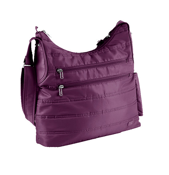 Lug Cable Car Satchel - Plum Purple