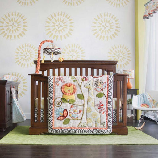 Cocalo 4 Piece Crib Bedding Set - Sydney
