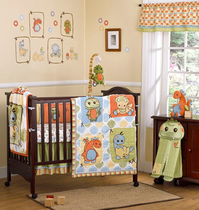 Cocalo 8 Piece Bedding Set - Dinos At Play