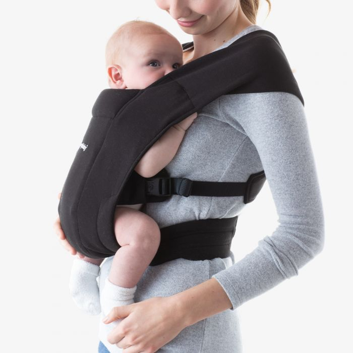 ErgoBaby Embrace Newborn Baby Carrier - Pure Black