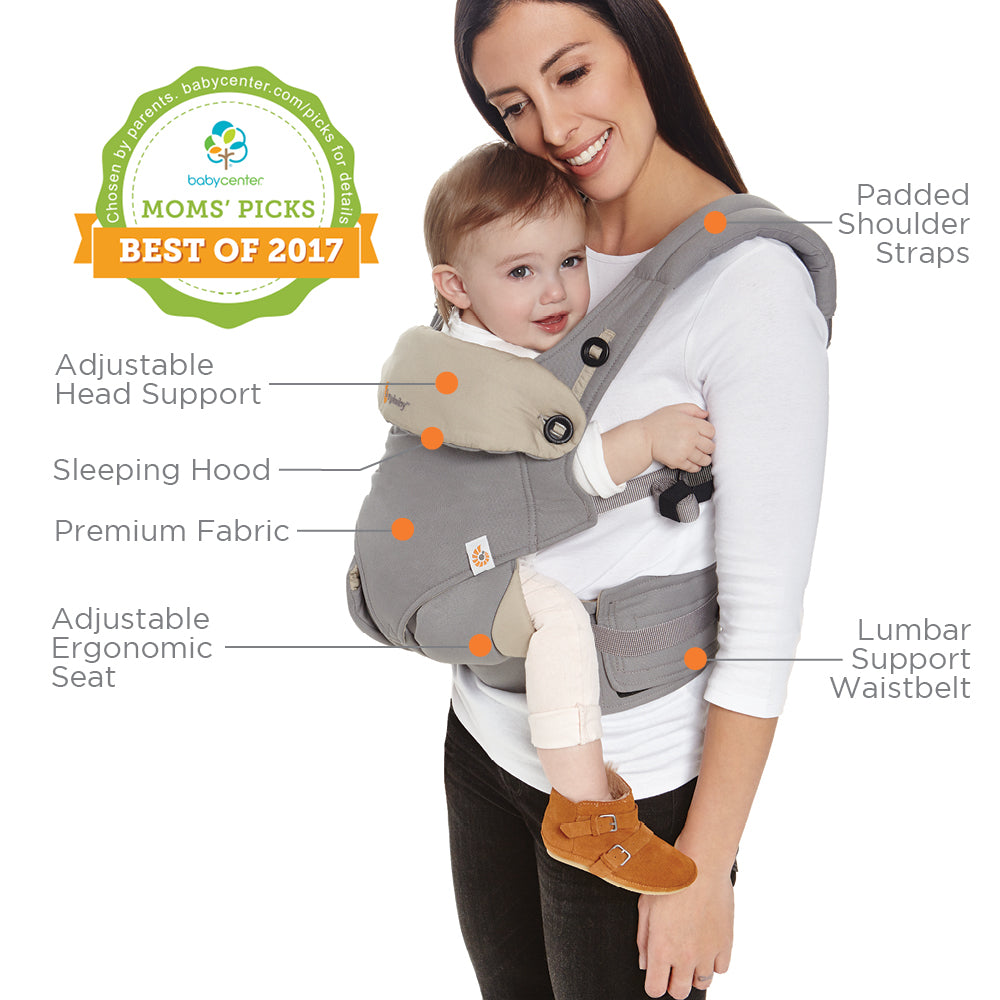 ErgoBaby 360 Baby Carrier - Grey