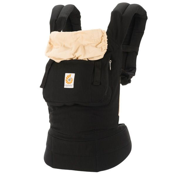 ErgoBaby Original Baby Carrier - Black-Camel