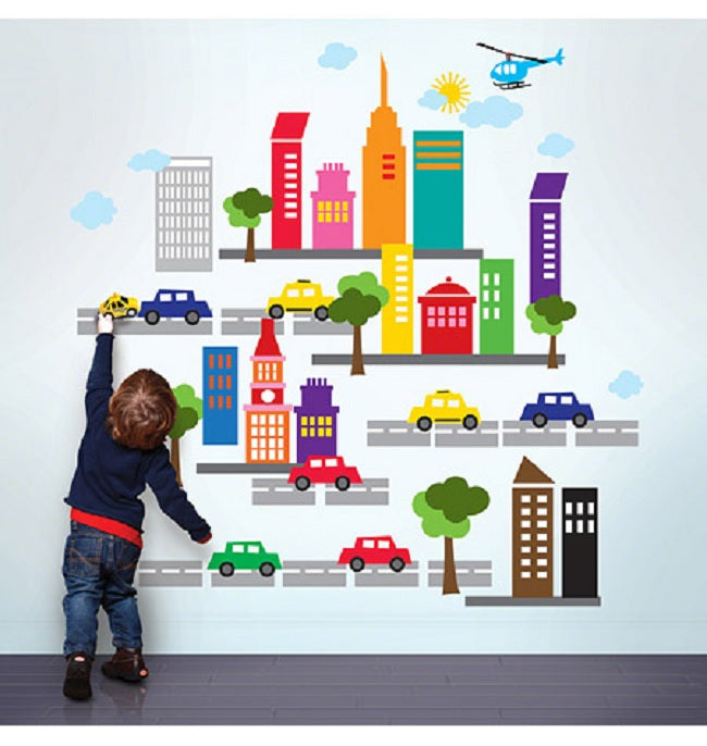 French Bull City Wall Sticker