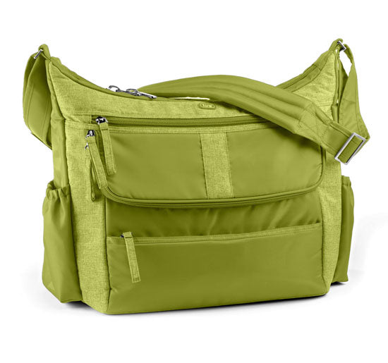 Lug Hula Hoop Carry All Messenger Bag - Grass Green