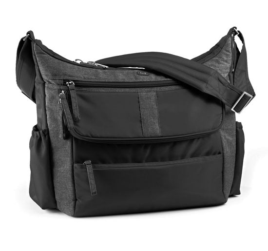 Lug Hula Hoop Carry All Messenger Bag - Midnight Black