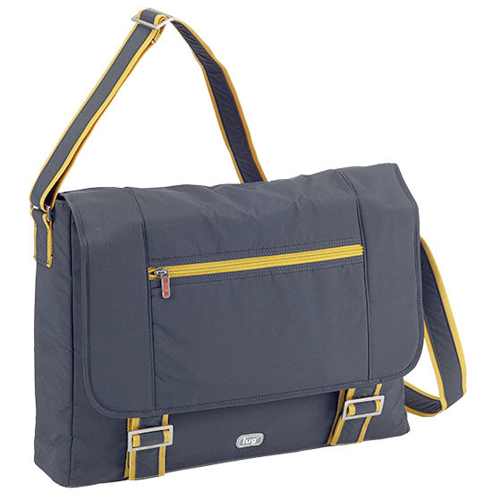 Lug Jockey Messenger Brief - Fog Grey