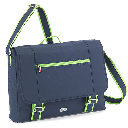 Lug Jockey Messenger Brief - Navy Blue