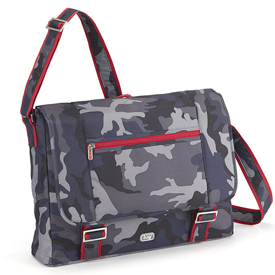 Lug Jockey Messenger Brief - Camo Navy