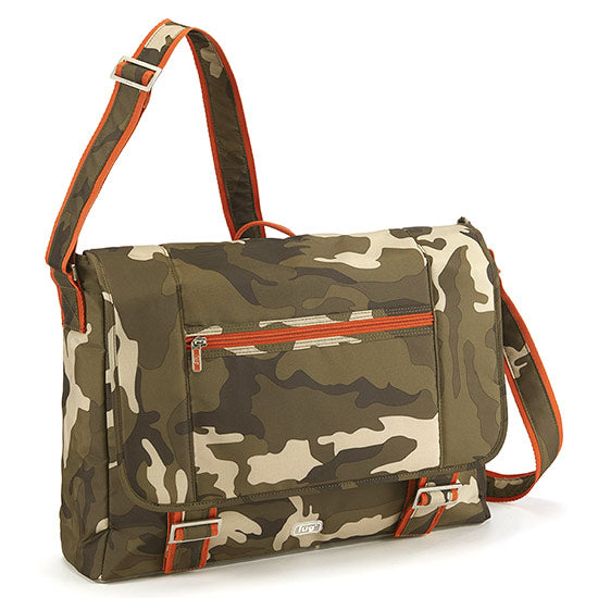 Lug Jockey Messenger Brief - Camo Olive