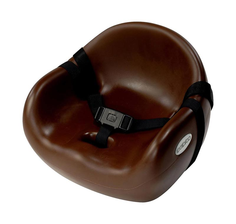 Keekaroo Cafe Booster Seat - Chocolate