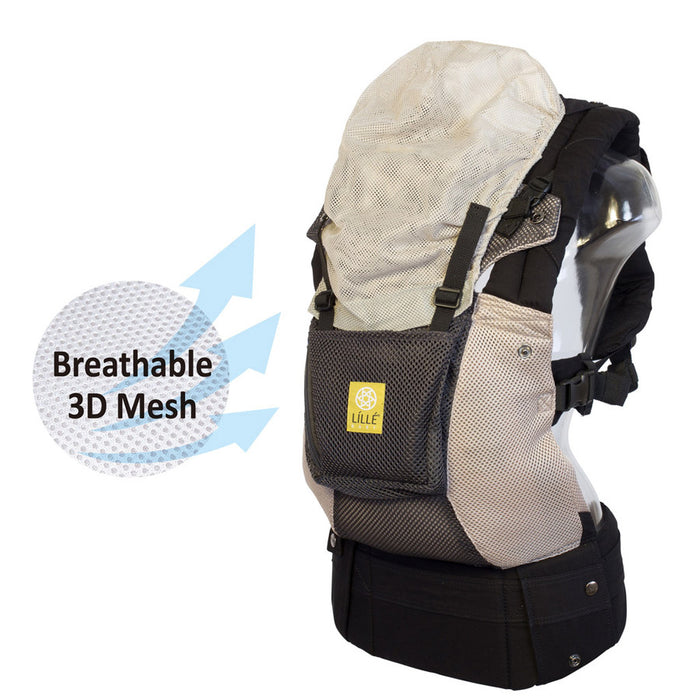Lillebaby Airflow Baby Carrier with Pocket  - Charcoal