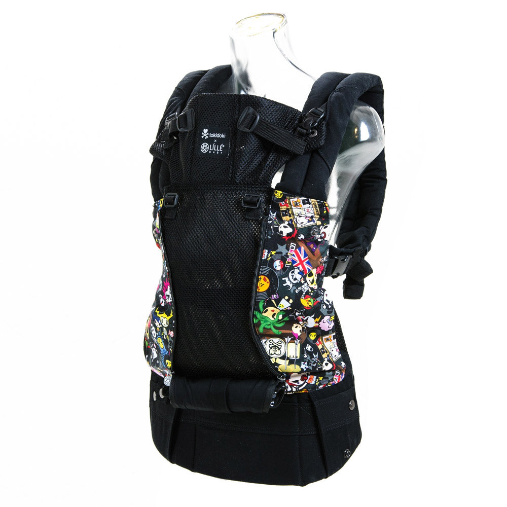 Lillebaby All Seasons Baby Carrier - TokiDoki Rebel