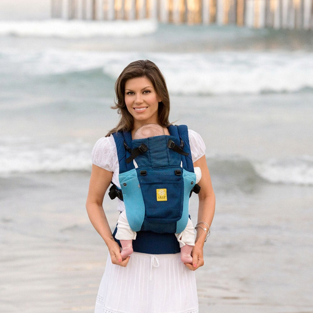 Lillebaby Airflow Baby Carrier - Aqua Blue