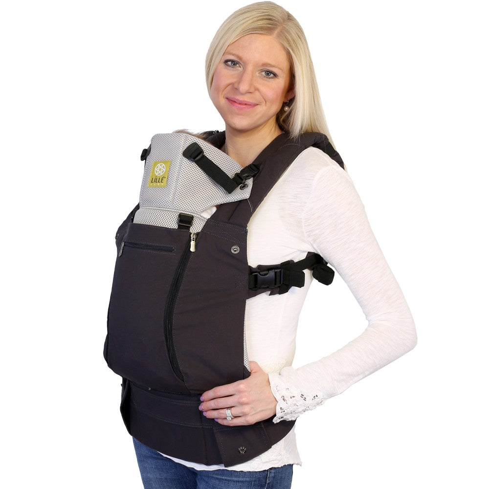Lillebaby All Season Baby Carrier - Charcoal Silver