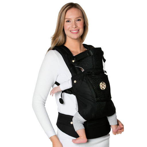 Lillebaby Baby Carrier Embossed - Luxe Noir