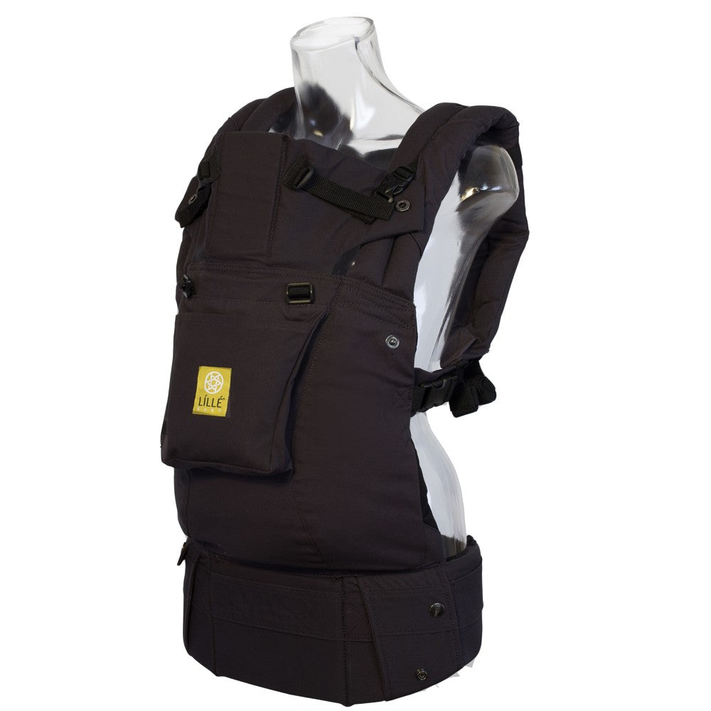 LilleBaby Original Baby Carrier with Pocket - Black