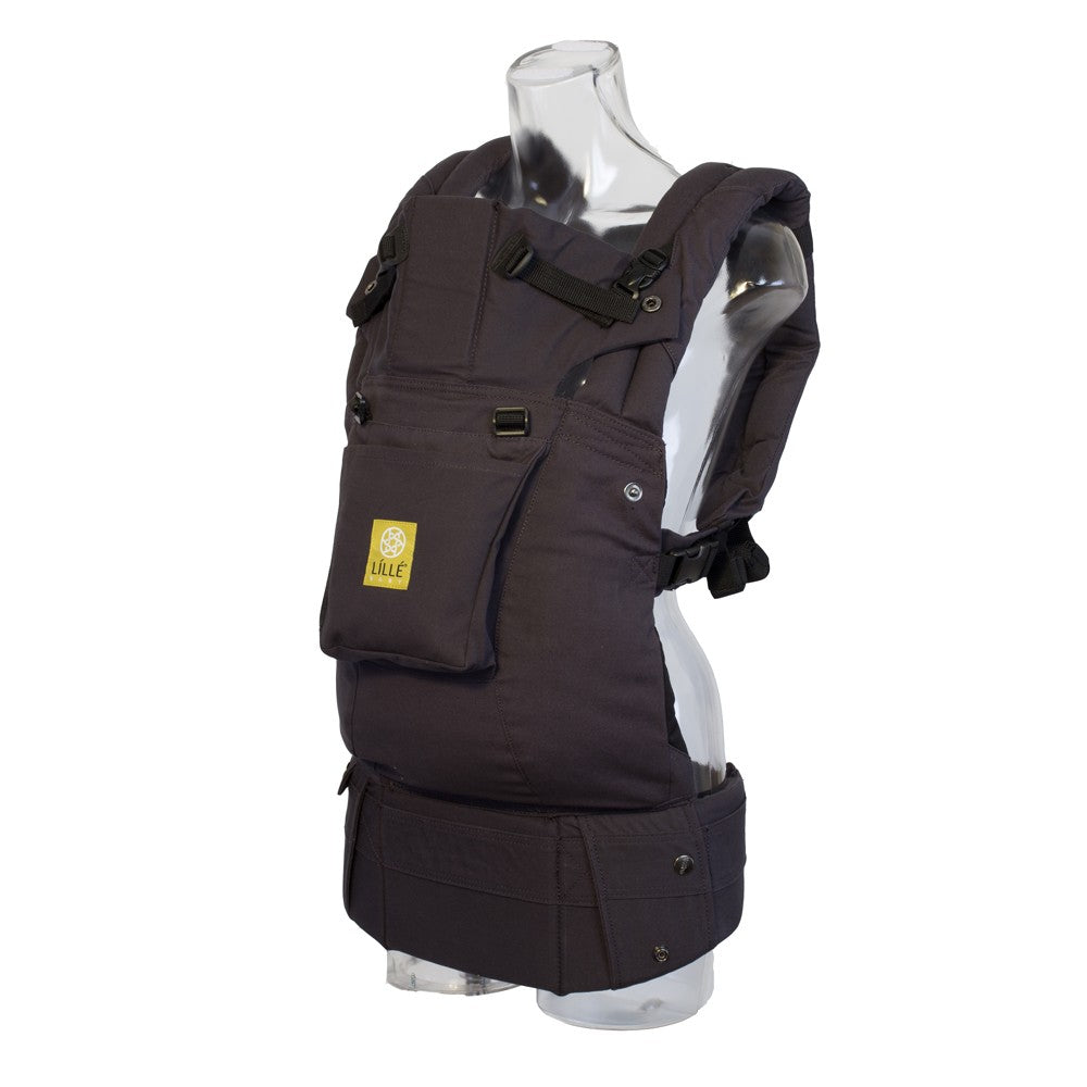 Lillebaby Original Baby Carrier with Pocket - Charcoal/Black