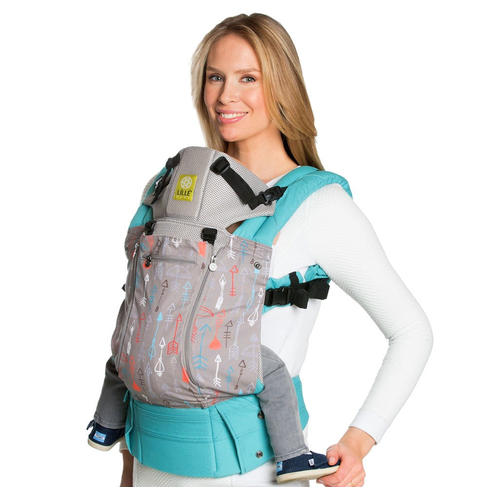 Lillebaby All Seasons Baby Carrier - Turquoise Silver Arrows