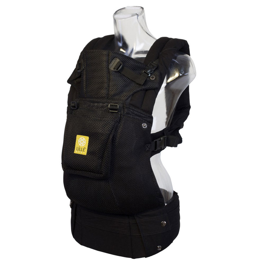 Lillebaby Airflow Baby Carrier With Pocket - Black