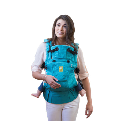 Lillebaby Baby Carrier Embossed - Teal