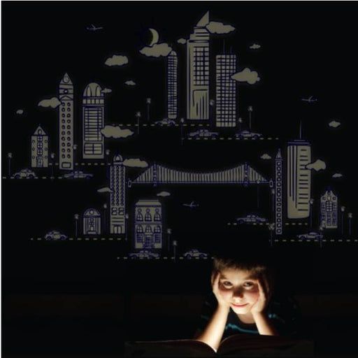 Night Scape Wall Stickers