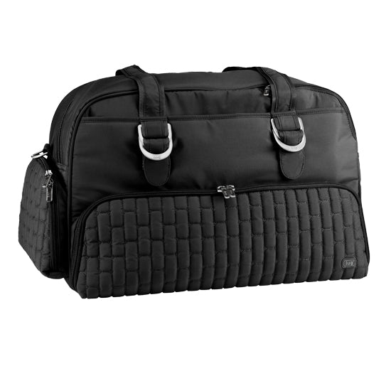 Lug Paddle Boat Overnight / Duffel Bag - Midnight Black