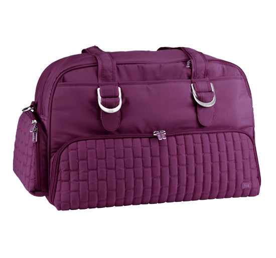 Lug Paddle Boat Overnight / Duffel Bag - Plum Purple