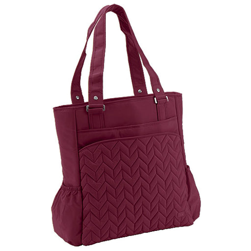 Lug Promenade Full Tote - Cranberry Red