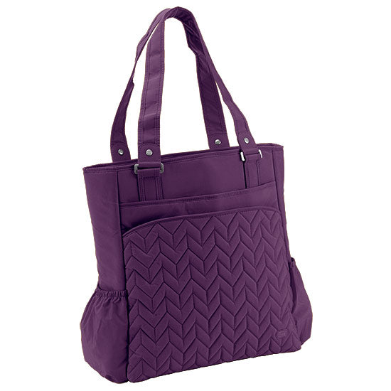 Lug Promenade Full Tote - Plum Purple