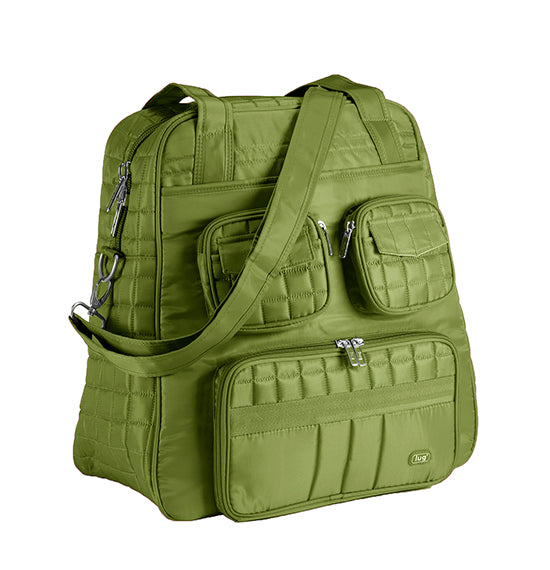 Lug Puddle Jumper Overnight Duffel Bag - Grass Green