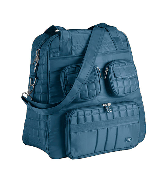 Lug Puddle Jumper Overnight Duffel Bag - Ocean Blue