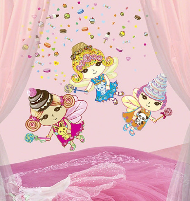 Sweet Dreams Fairies Wall Stickers