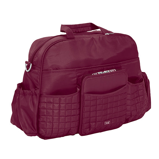 Lug Tuk Tuk Carry All Diaper Bag - Cranberry Red