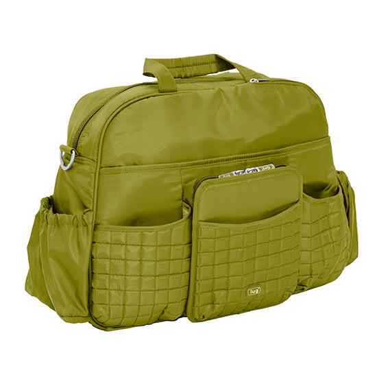 Lug Tuk Tuk Carry All Diaper Bag - Grass Green