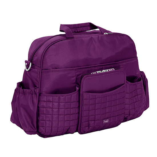 Lug Tuk Tuk Carry All Diaper Bag - Plum Purple