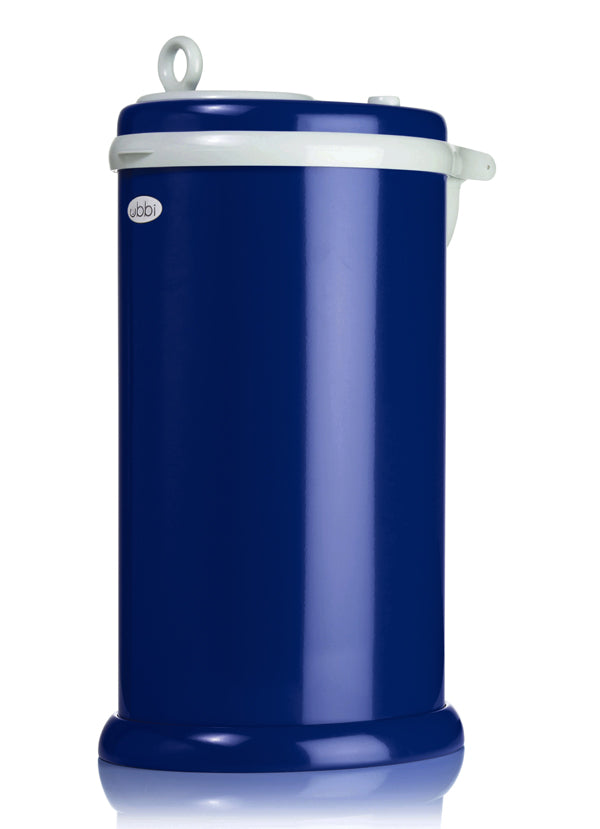Ubbi Stainless Steel Diaper Pail - Navy Blue