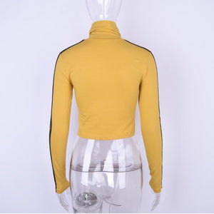 Tarantino Turtleneck Long Sleeve Top