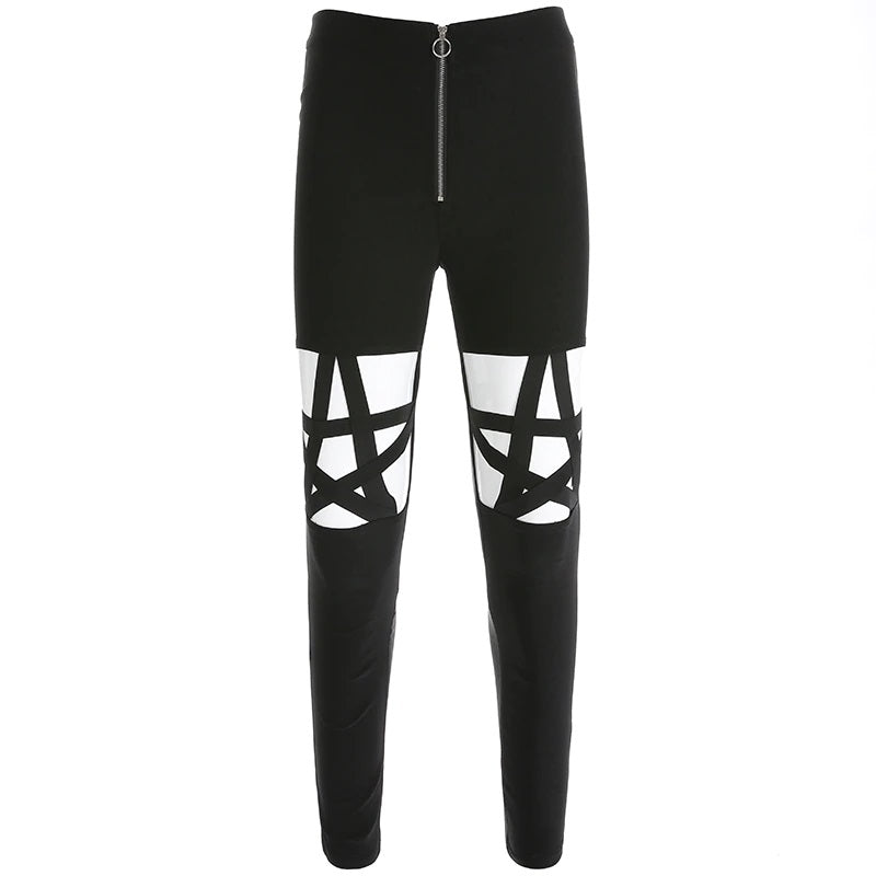 Pentagram Black Pants