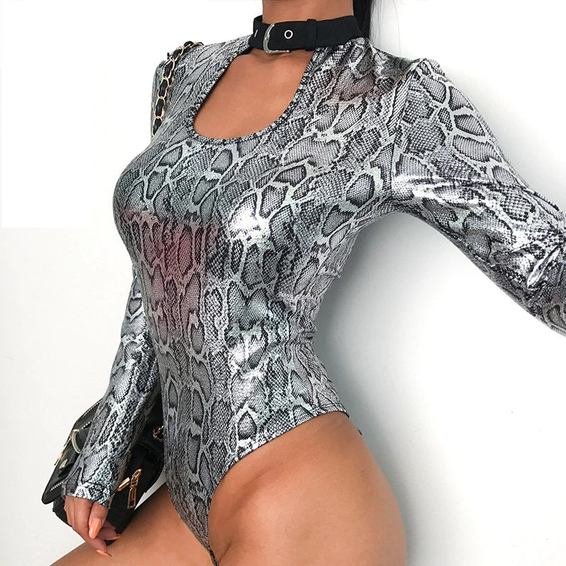 Snake Metallic Bodysuit